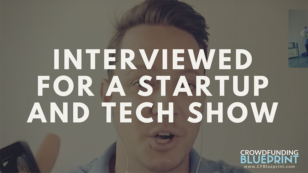 Jurgen Interviewed For a Startup and Tech Show